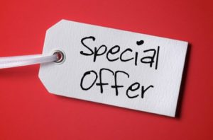 Arrange A Consultation Special Offer
