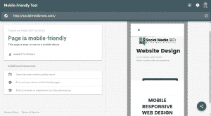 Mobile Friendly Website Design From Social Media SEO